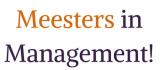 Meesters in Management!